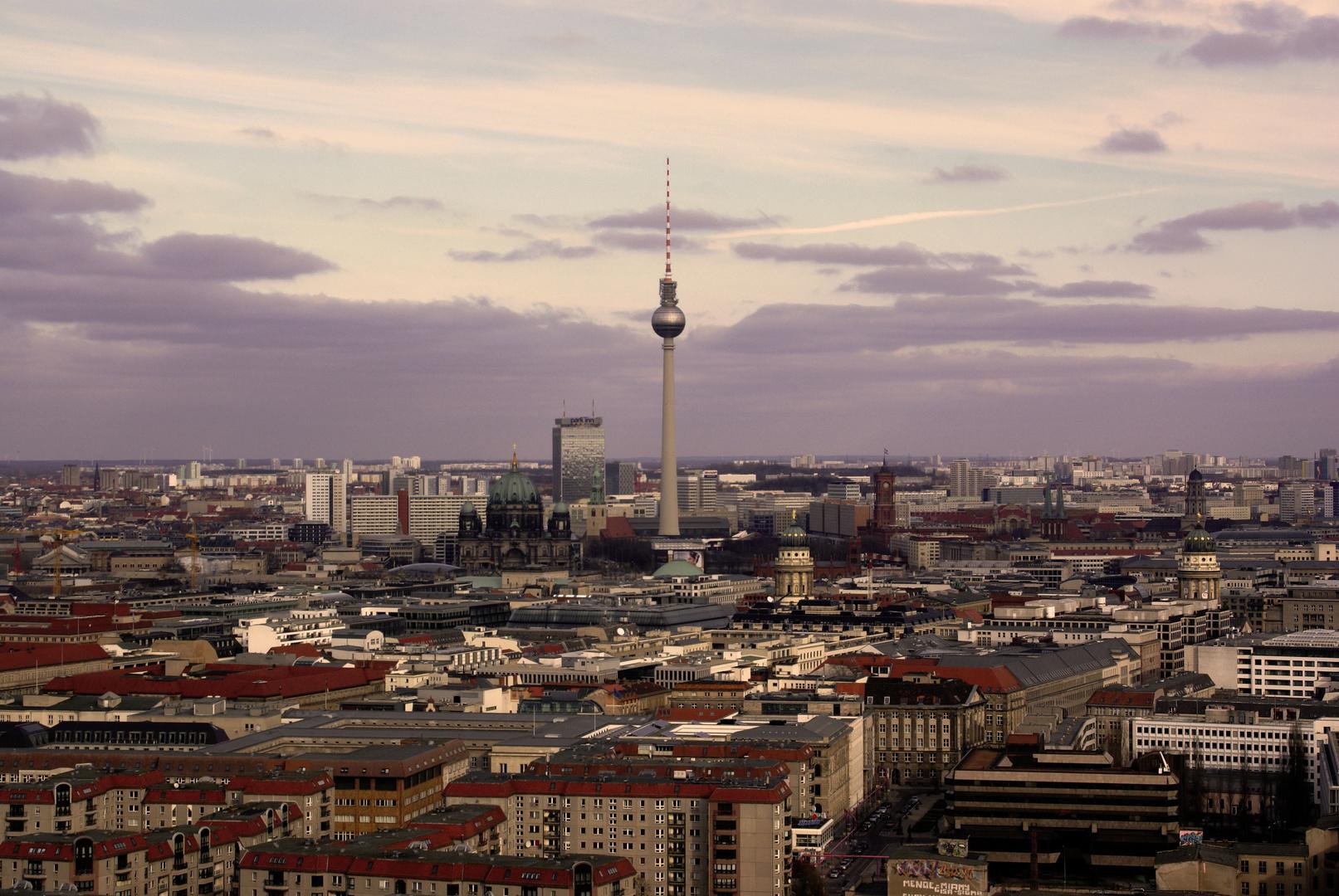 Berlin aus 90 m Höhe