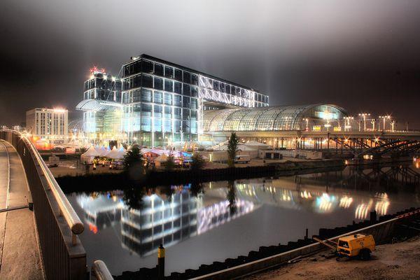 Berlin bei Nacht - Hauptbahnhof