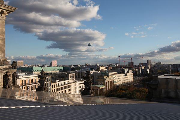 Berlin - Blick vom Reichstag