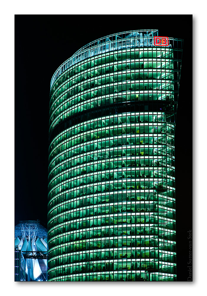 Berlin, DB-Tower am Potzdamer Platz