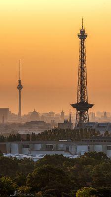 Berlin - die 2 Türme