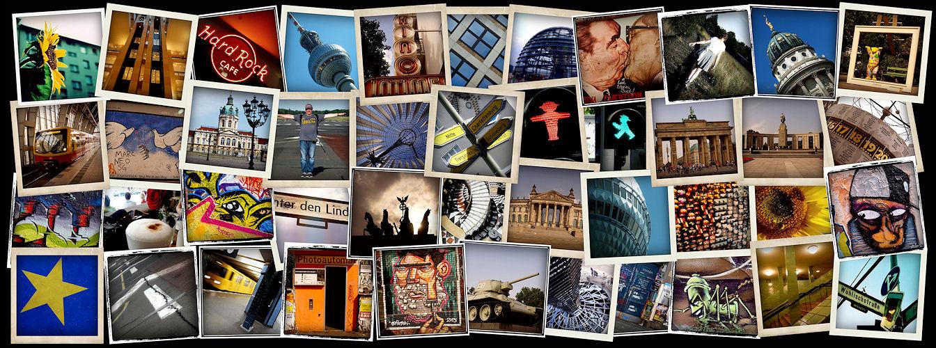 Berlin - die unvollendete Collage