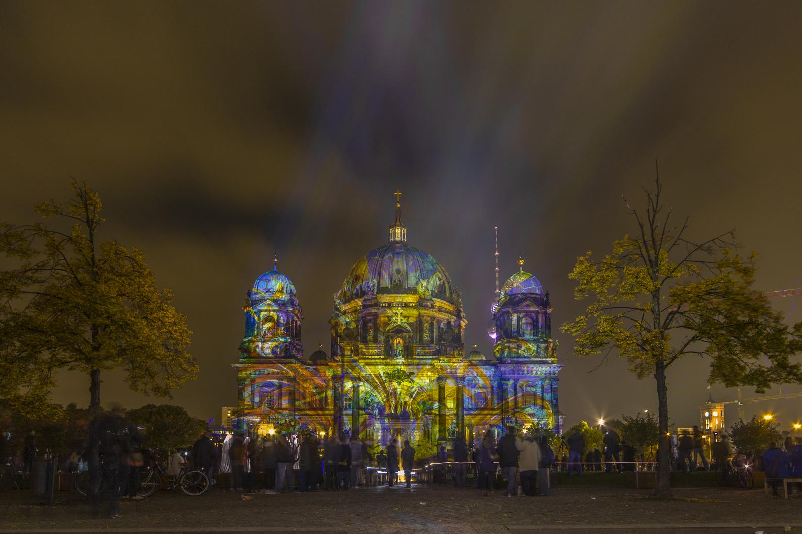 Berlin, Dom, Festival of Lights 2013