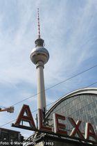 Berlin Fernsehenturm + Alexanderplatz