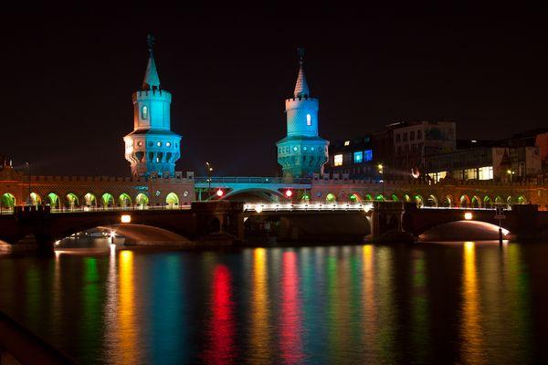 Berlin Festival of Lights - Oberbaumbrücke