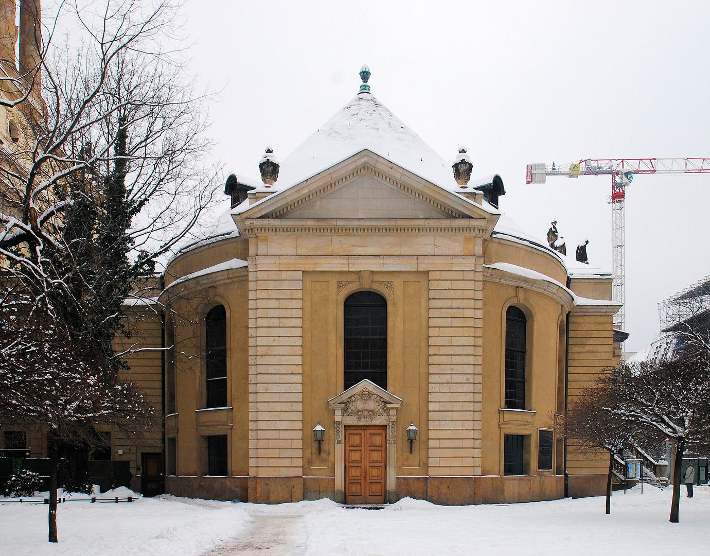 Berlin Französische Friedrichstadtkirche (von Norden)
