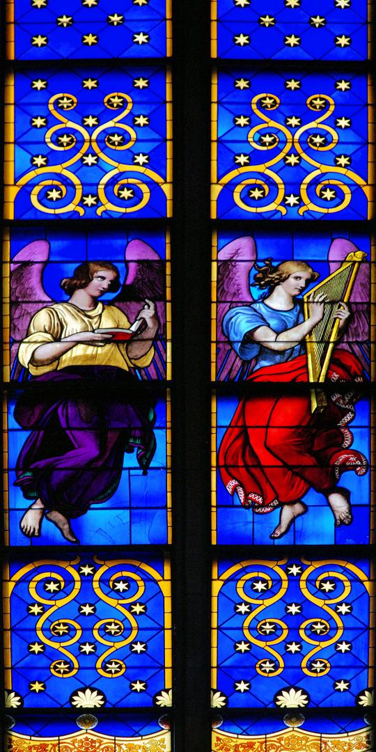 Berlin Friedrichswerdersche Kirche;Chorfenster