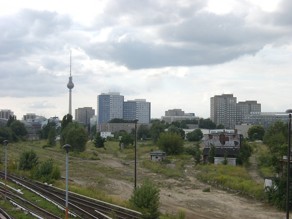 Berlin from the railway, summer 2005