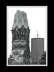 Berlin Gedächtniskirche, andere Version