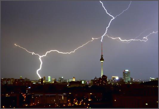Berlin - Gewitter - 21.06.05