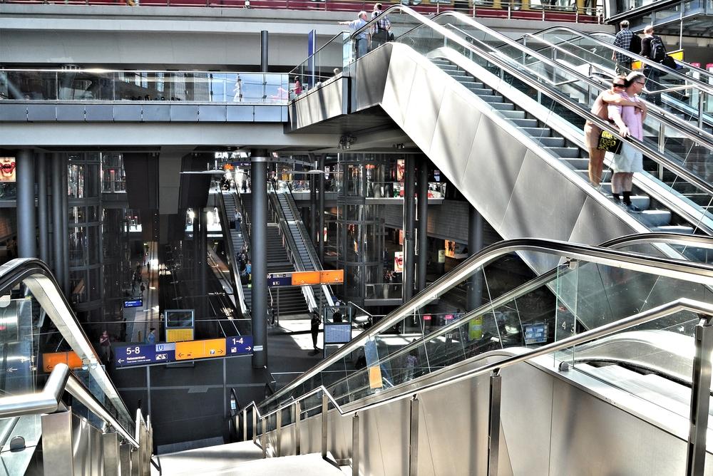 Berlin Hauptbahnhof...