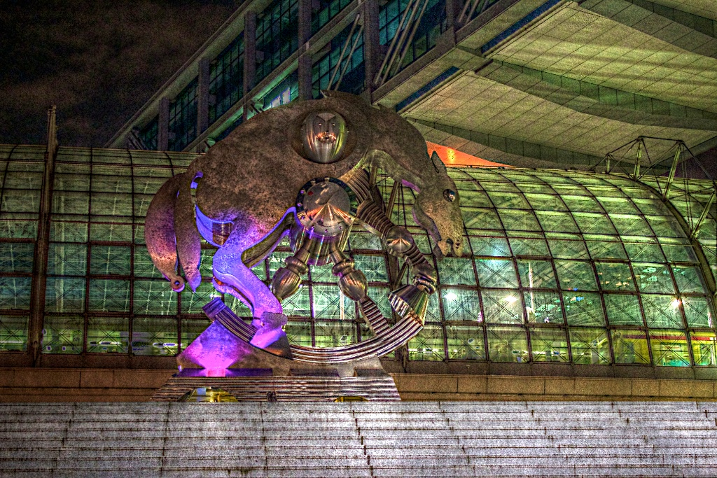 """Berlin Hauptbahnhof """"Rolling Horse"""""""