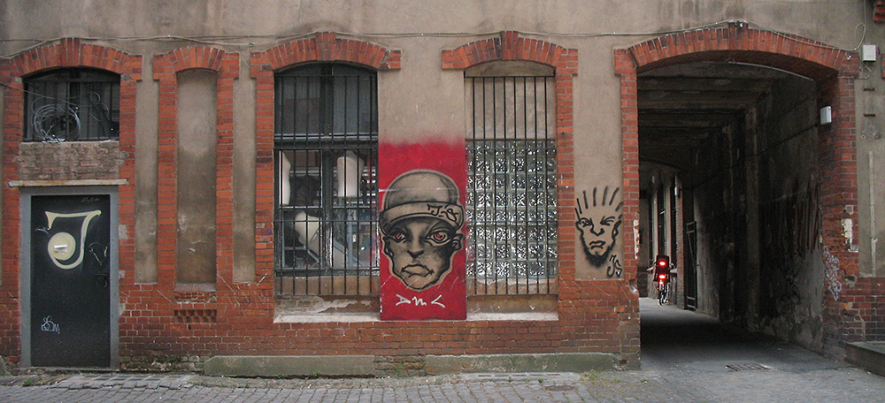 Berlin - Hinterhof, 01