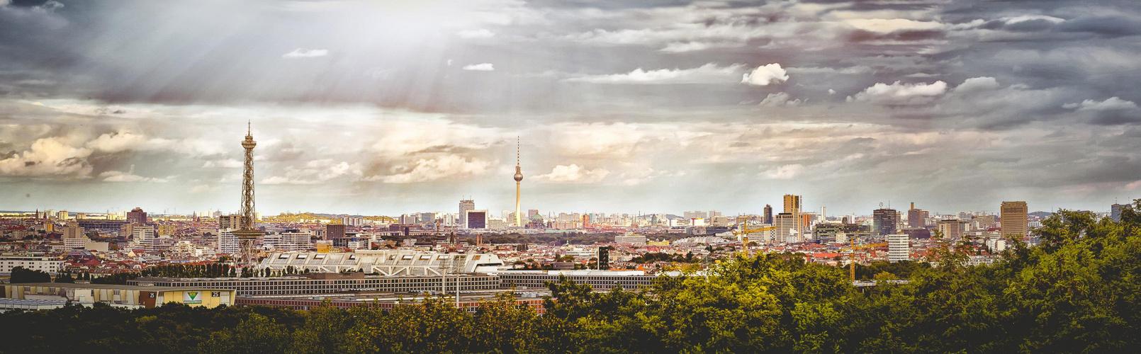 Berlin in die eine richtung.....