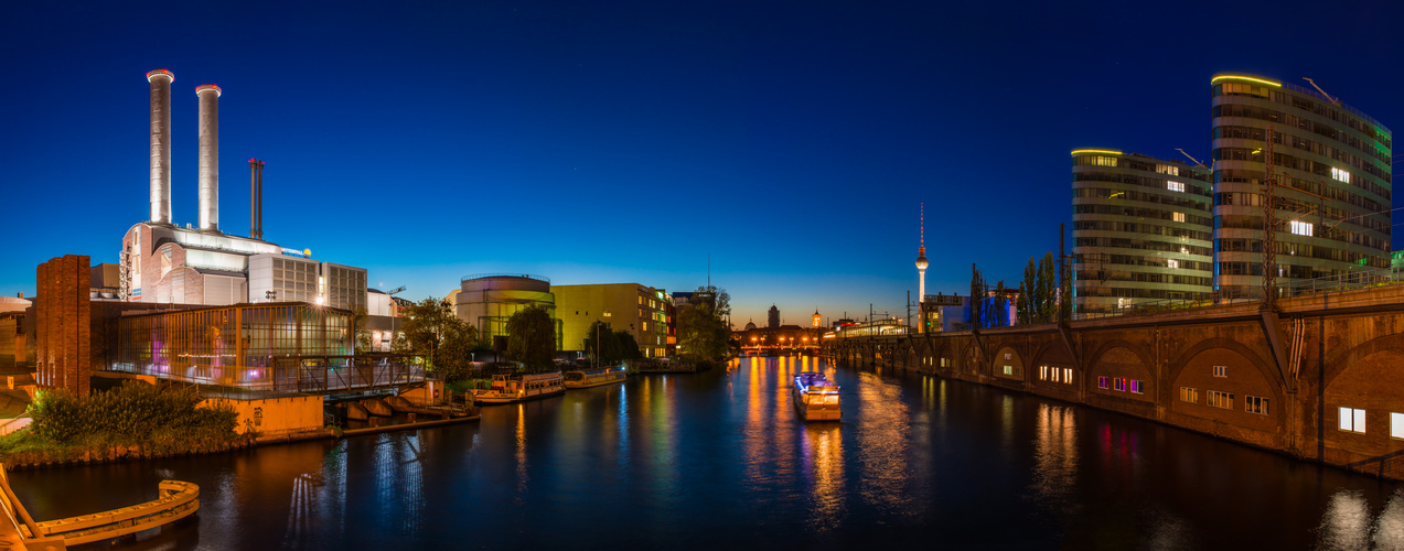 Berlin Jannowitzbrücke Panorama