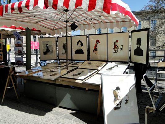 Berlin, Kunstmarkt am Zeughaus (?)