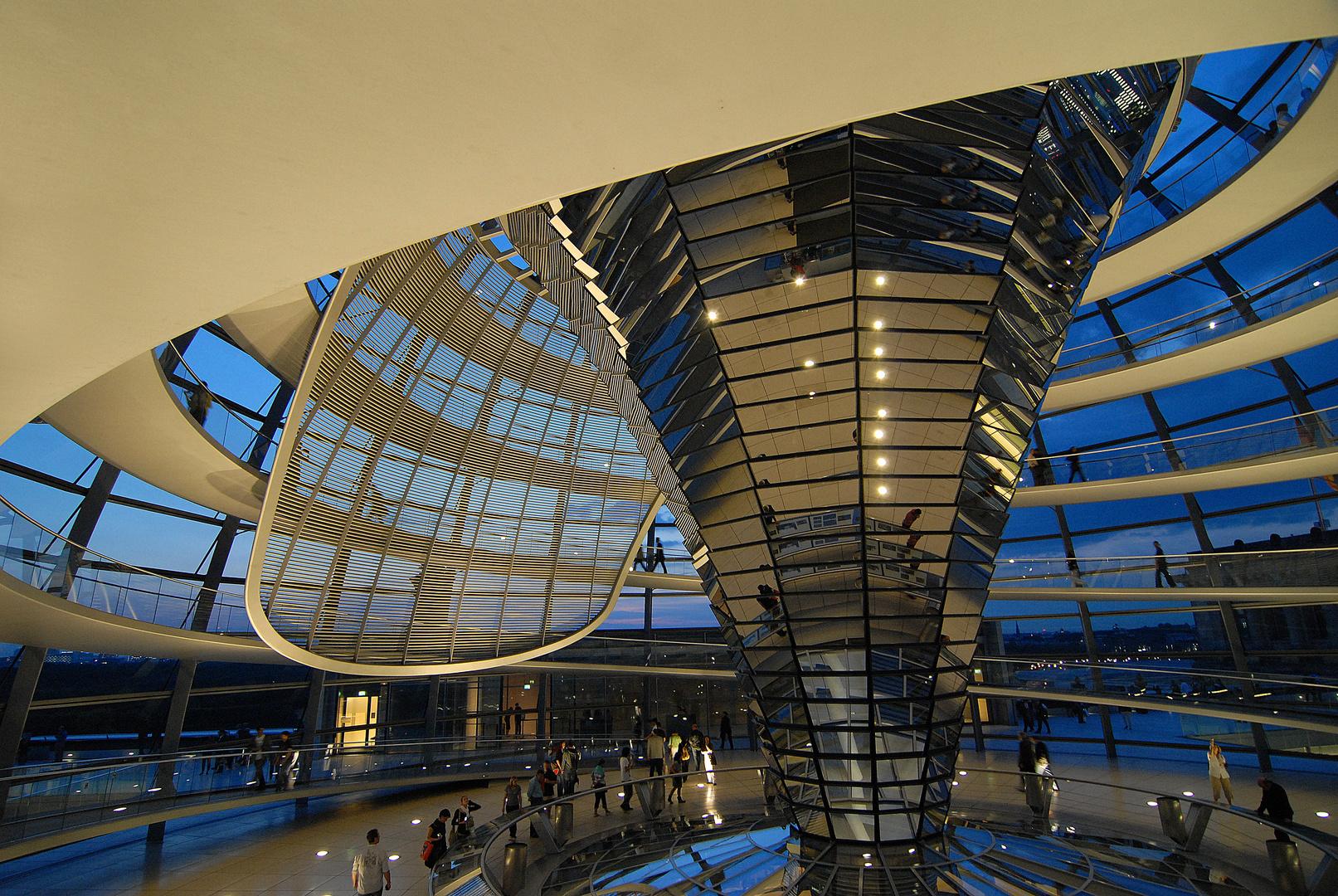 Berlin, Kuppel des Reichstagsgebäudes