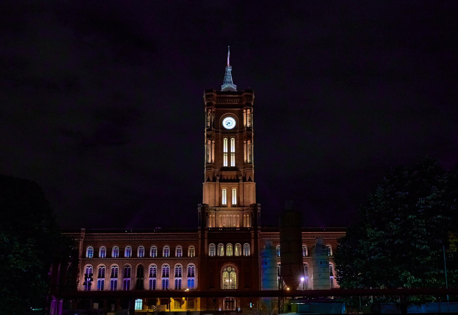 Berlin leuchtet 2014 - Das rote Rathaus