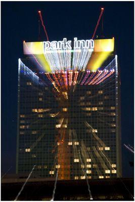 Berlin light show....