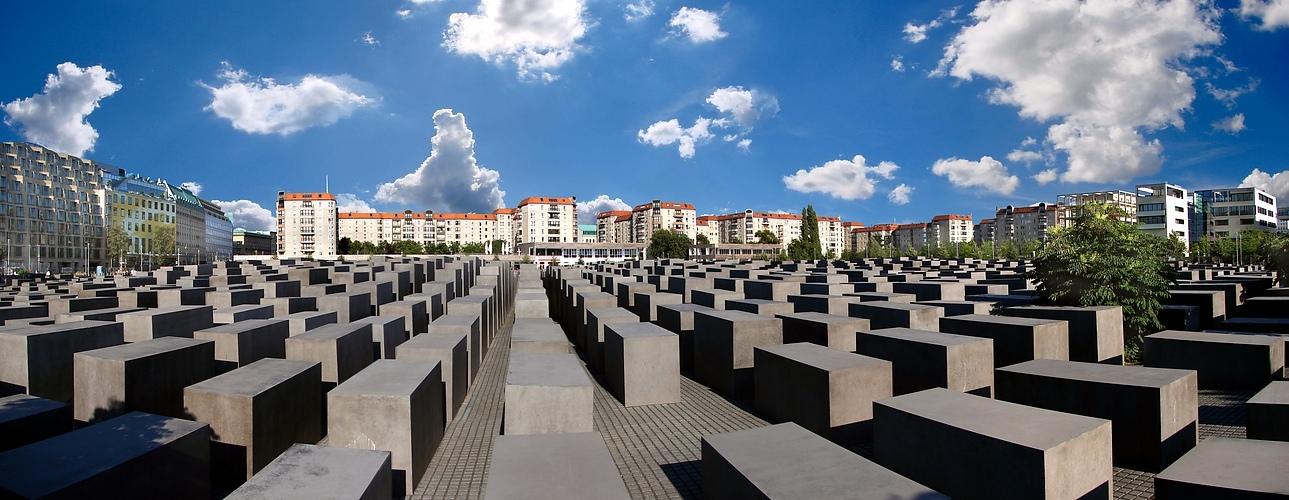 Berlin Mitte: Holocaust-Mahnmal von Peter Eisenmann
