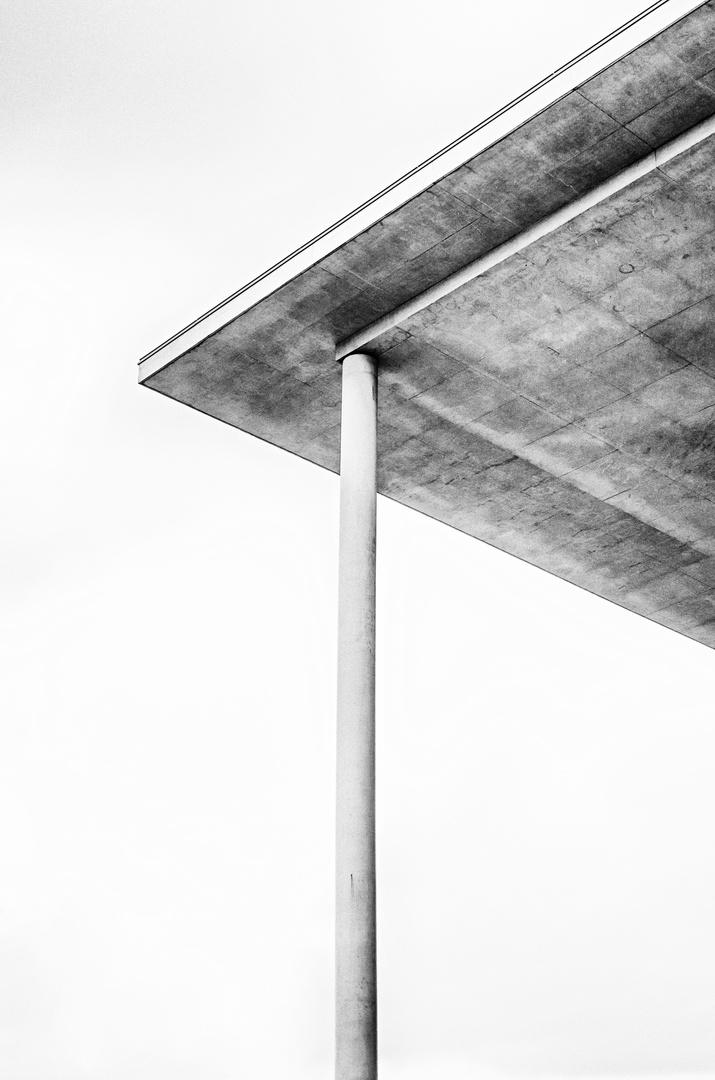 Berlin, Paul-Löbe-Haus, roof construction