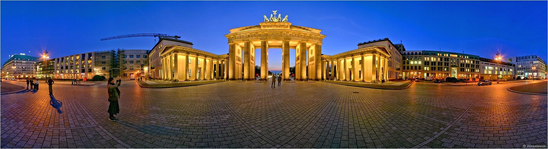 Berlin Schnappschuss Panorama
