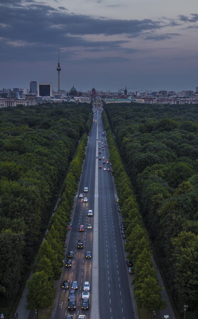 Berlin - Siegessäule. On Top of the City