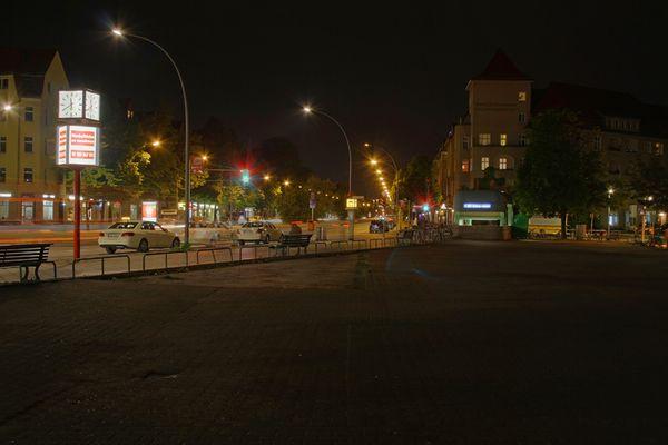 Berlin-Siemensstadt bei Nacht