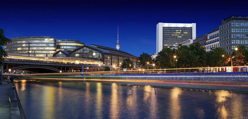 Berlin Skyline Friedrichsstrasse