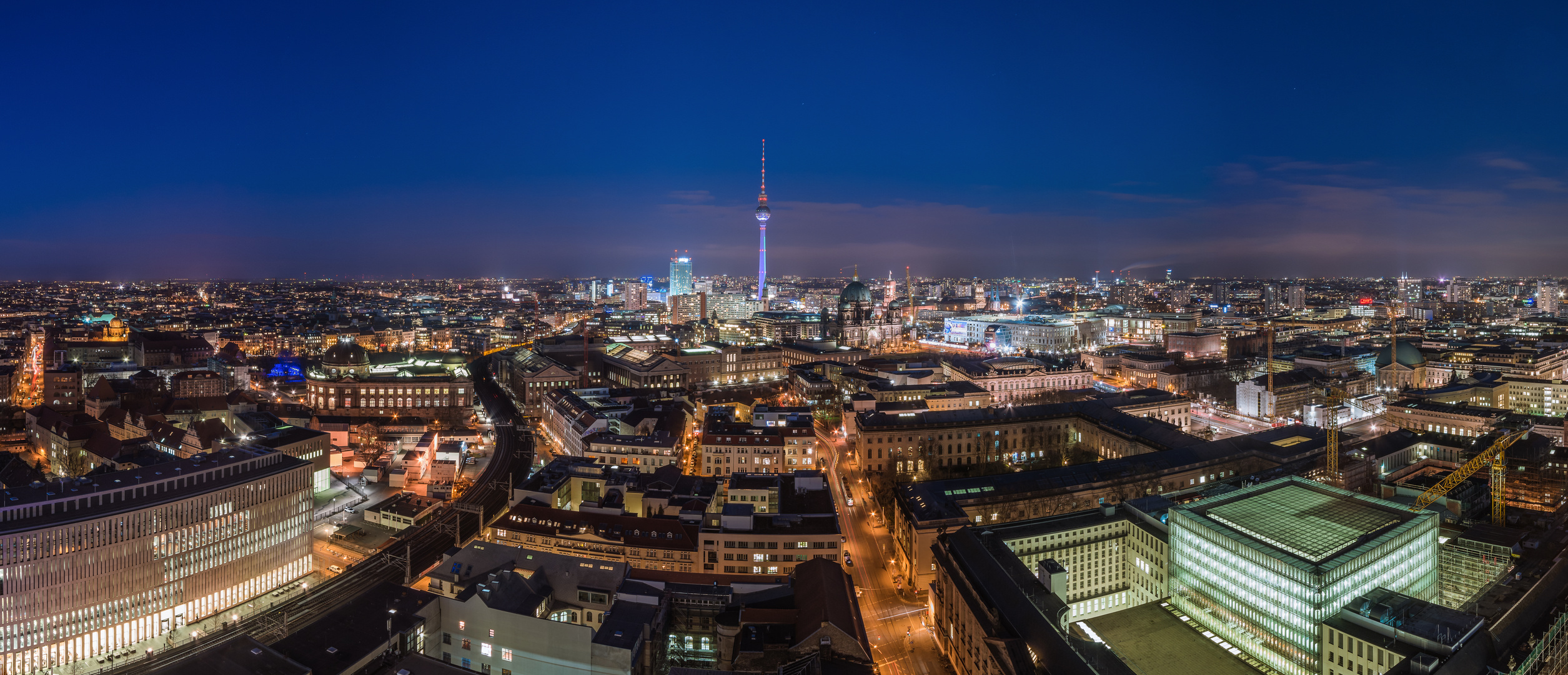 berlin skyline ihz foto bild deutschland europe berlin bilder auf fotocommunity. Black Bedroom Furniture Sets. Home Design Ideas