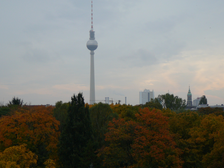 Berlin Skyline im Herbst