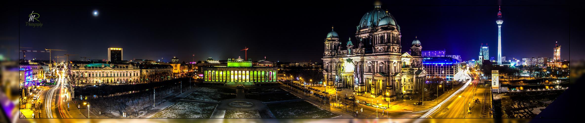 Berlin Skyline von der Humboldtbox