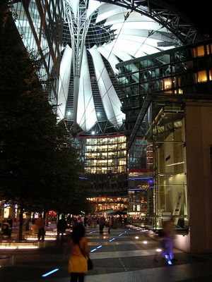 Berlín Sony Center