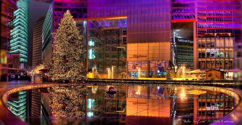 Berlin, Sony Center, Weihnachten 2006, DRI [stay tuned for http://www.photosight.at]