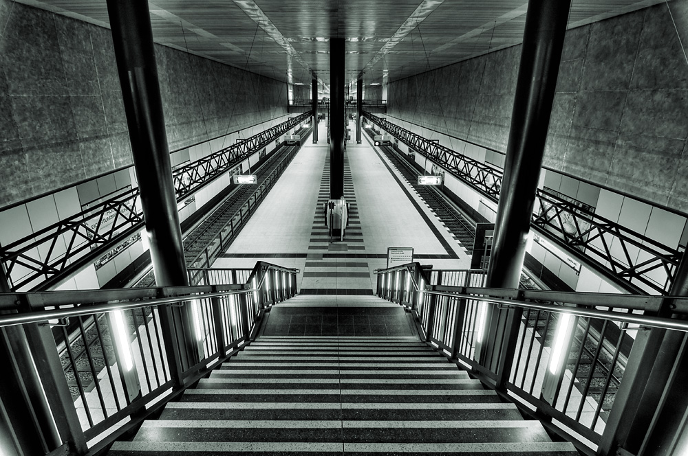 Berlin, U-Bahnhof Hauptbahnhof
