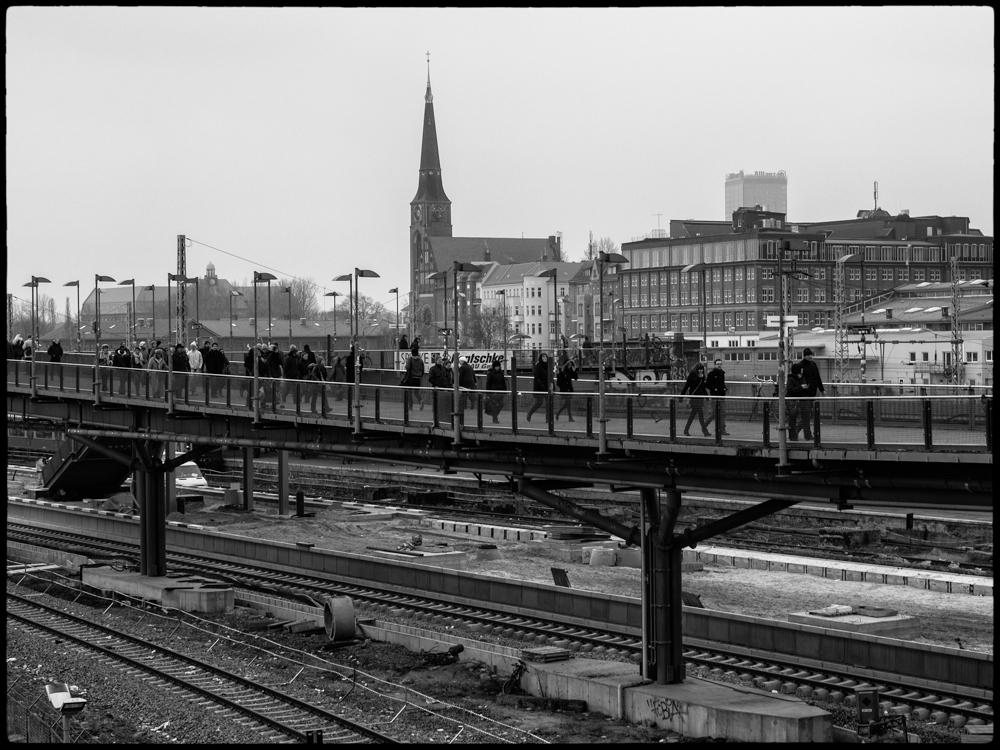 Berlin Umsteigebahnhof Warschauer Str.