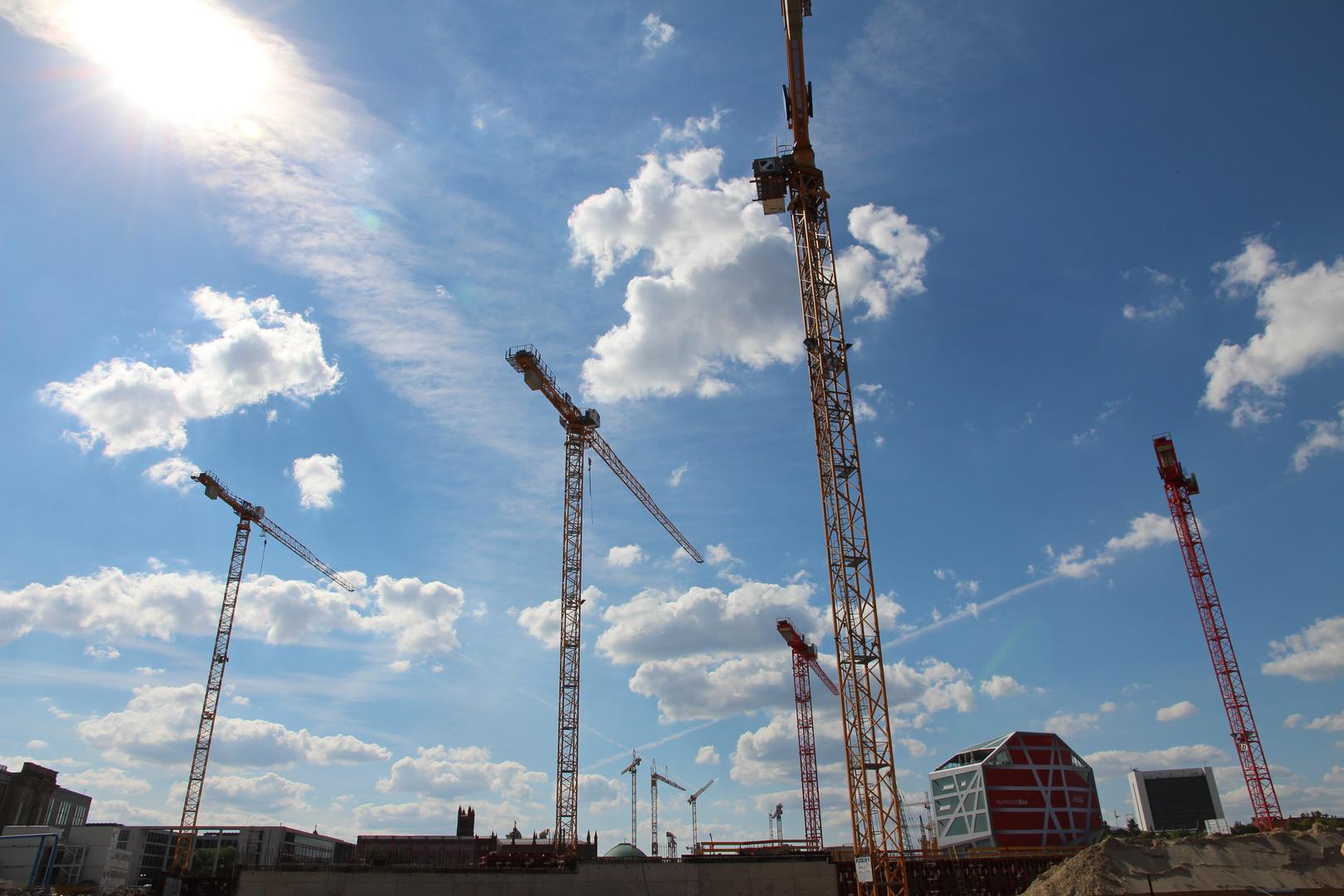 Berlin und die ewigen Baustellen