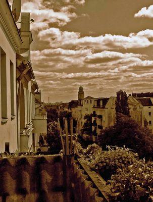 Berlin vom Balkon