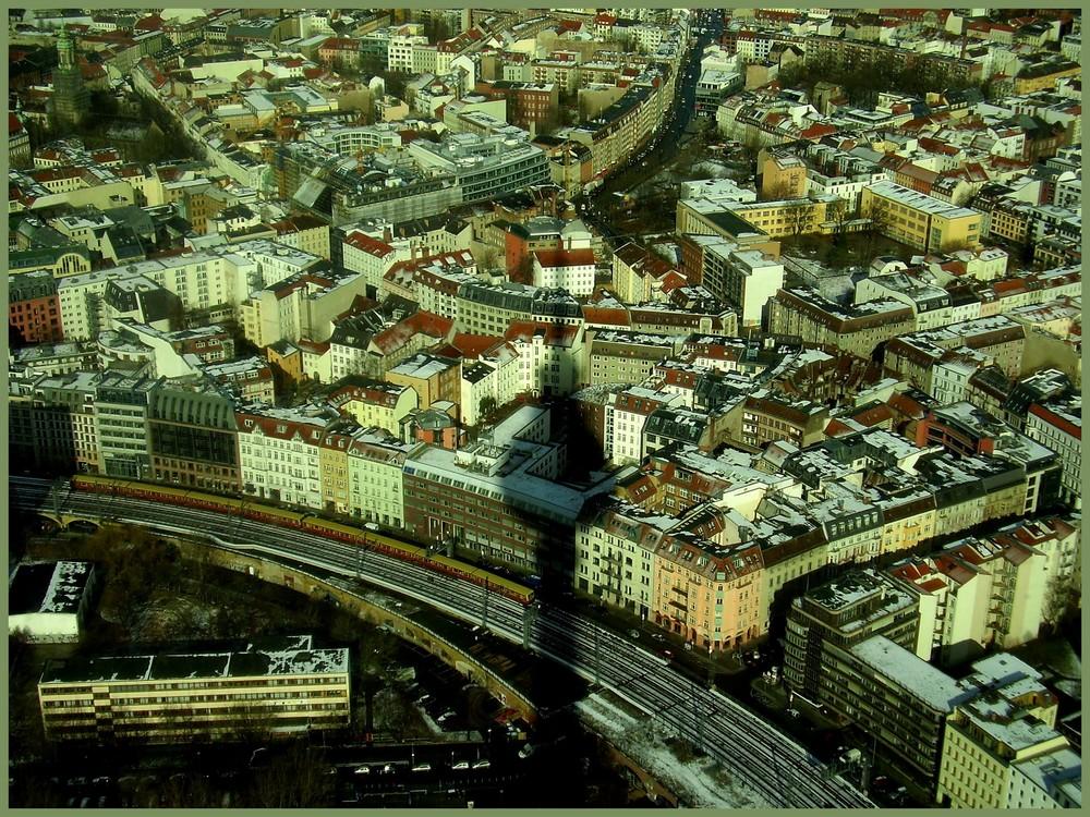 Berlin von Fernsehen Türn.