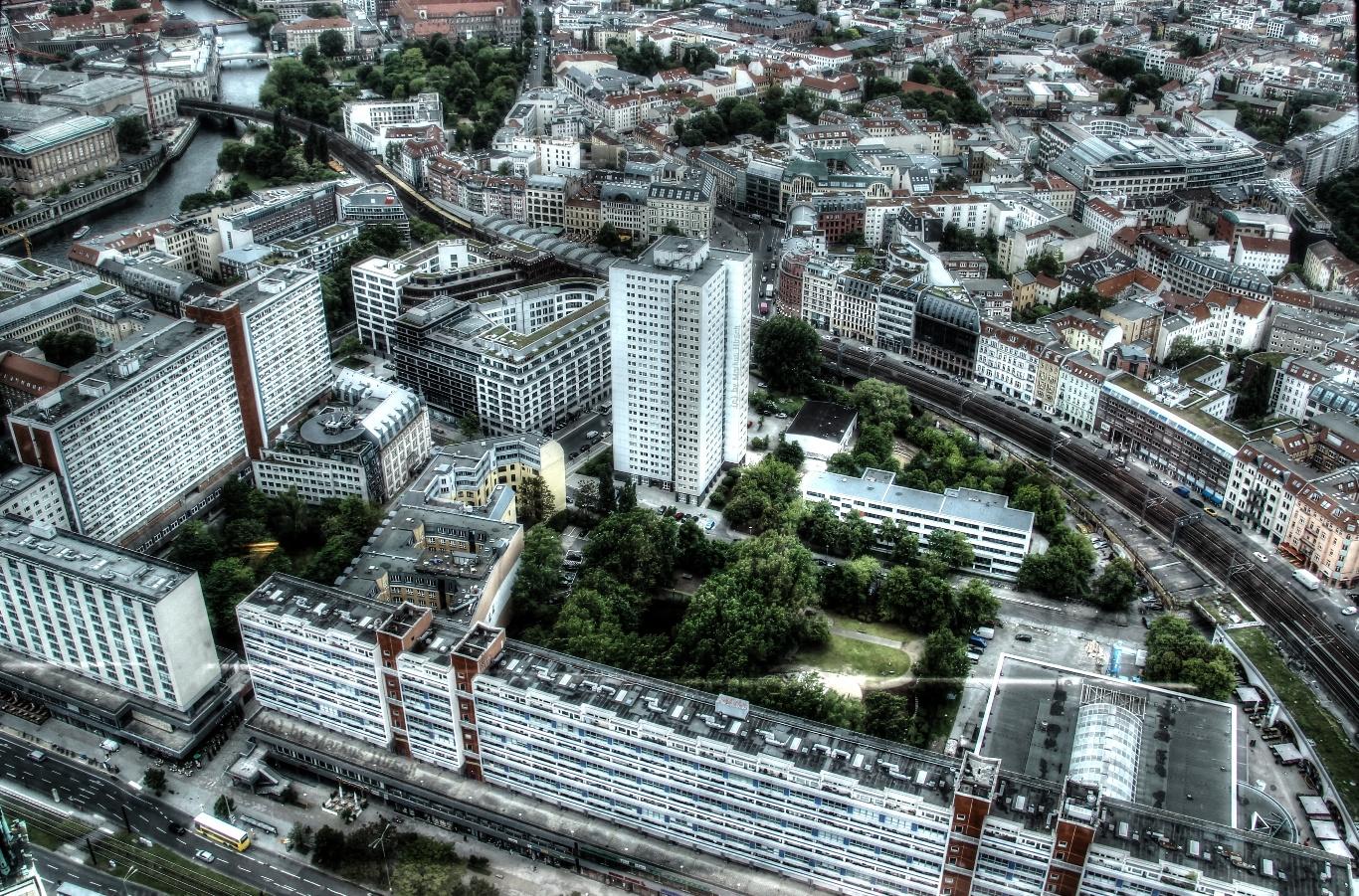 Berlin von oben 1