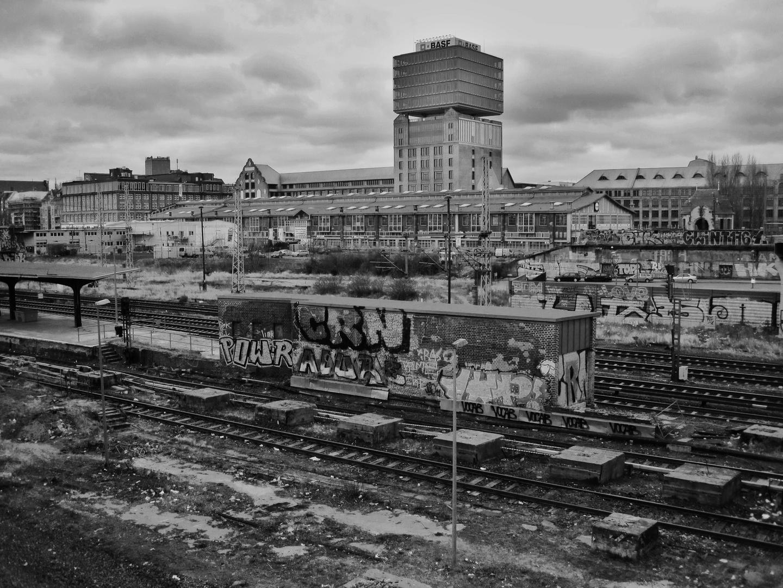Berlin, Warschauer Bahnhof.
