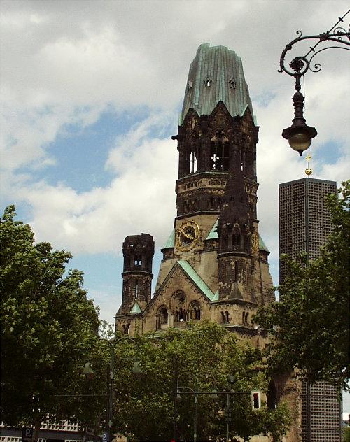 Berlin*10 Die Kaiser-Wilhelm-Gedächtniskirche ...