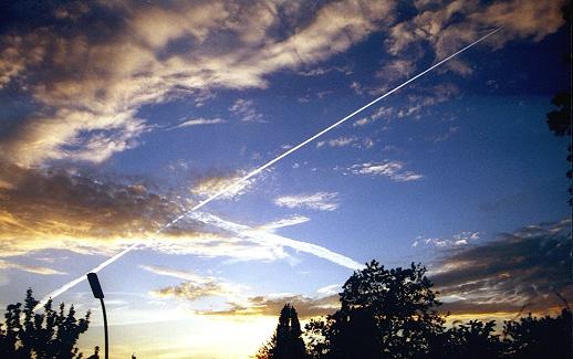 Berliner Abend Himmel