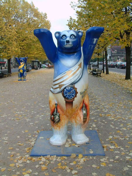 Berliner Bär mal anders