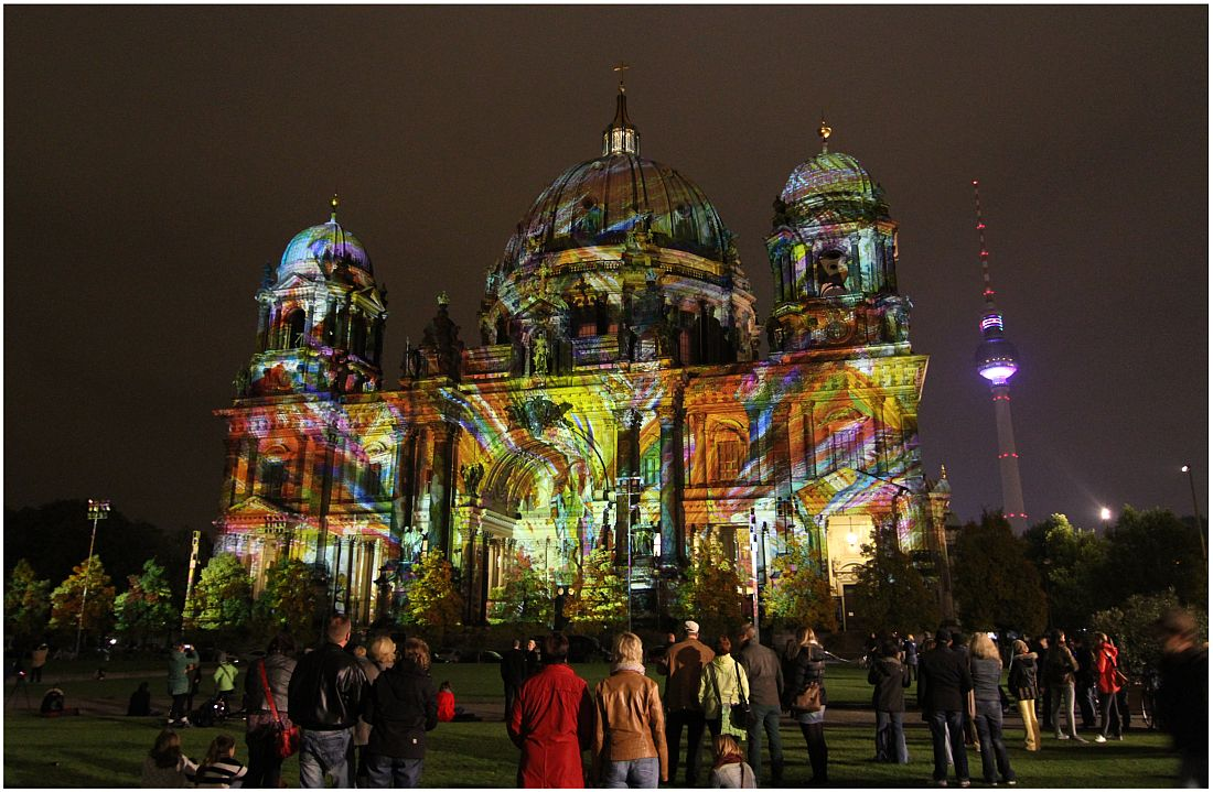 Berliner Dom 2 - Festival of Lights 2013