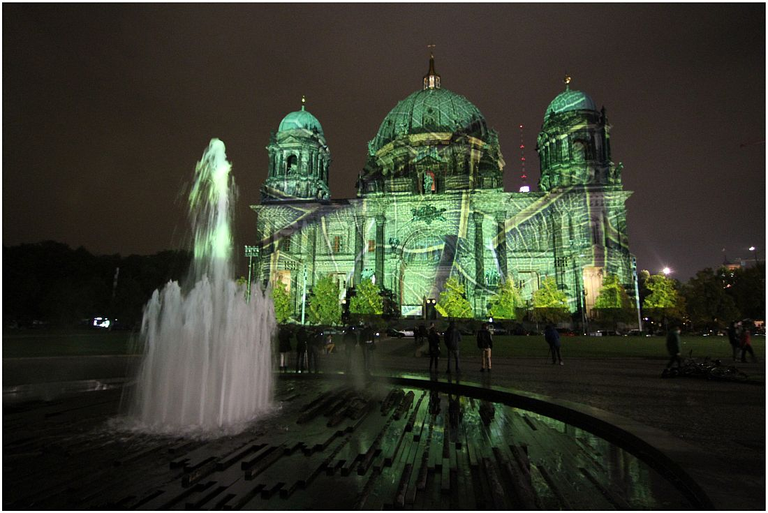 Berliner Dom 3 - Festival of Lights 2013