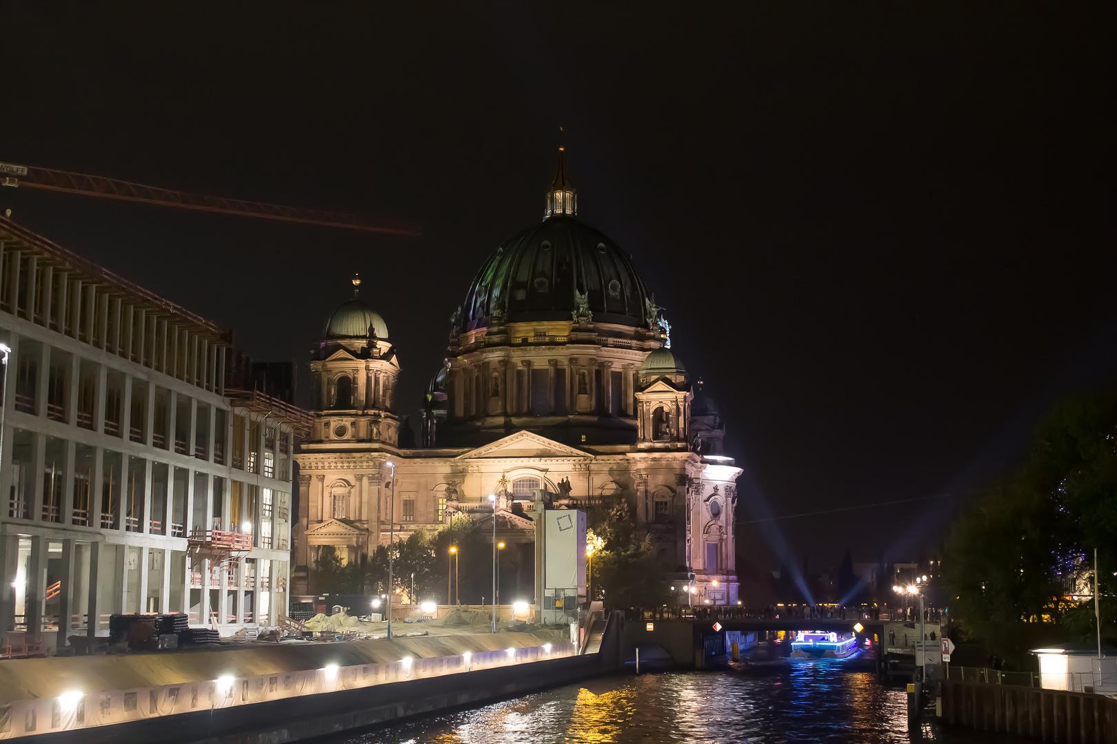 Berliner Dom ,Fesival of Lights 2014