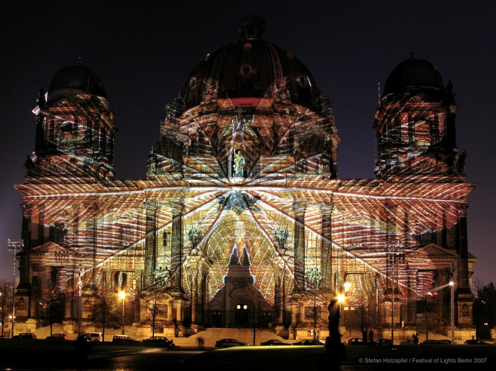 Berliner Dom - Festival of Lights 2007