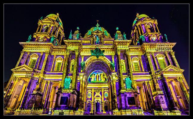 Berliner Dom (Festival of Lights 2015)