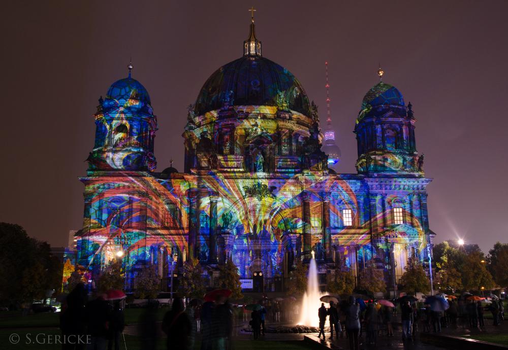 Berliner Dom Festival of Lights in Berlin 2013